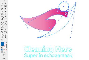 Logo in vector maken - stap 3